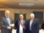 RAOB presenting cheque to Cumbria Deaf
