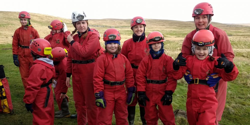 Bendrigg Residential 2017 caving group