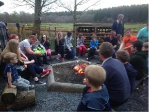 Bendrigg 2018 campfire