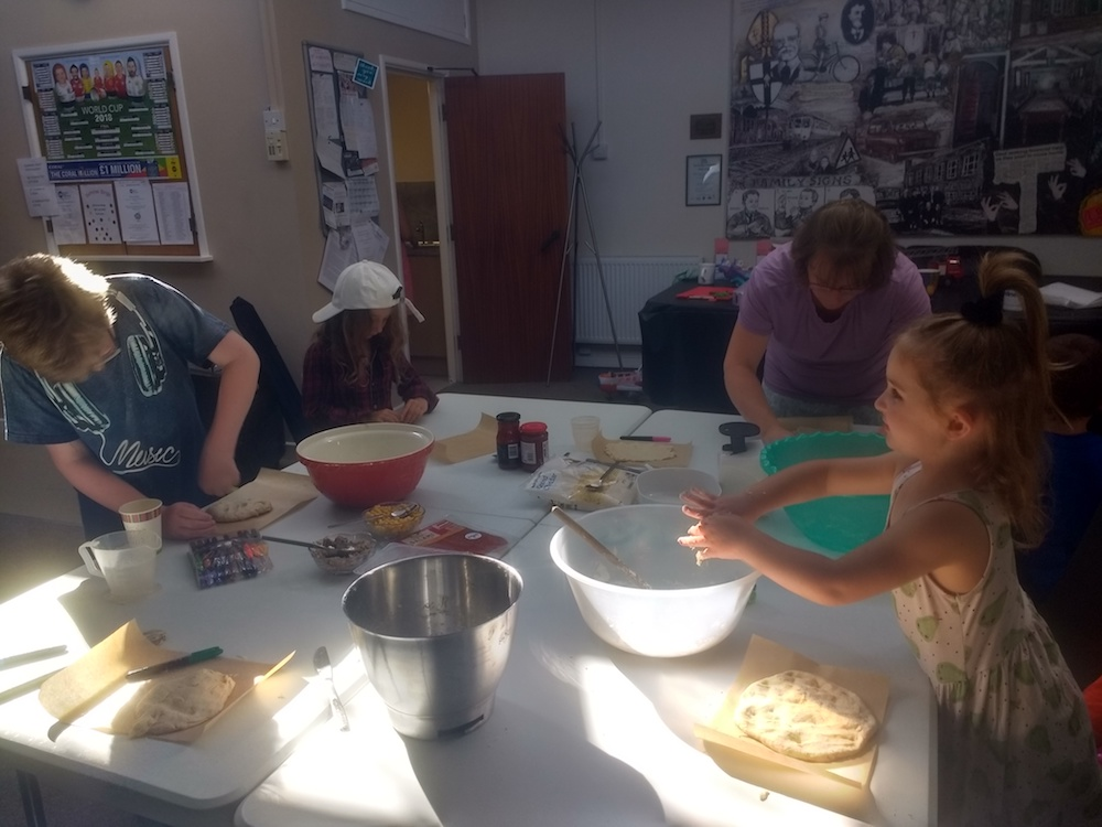 Pizza party in Barrow for young people - Cumbria Deaf Association