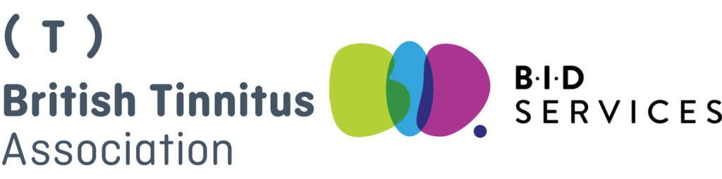 British Tinnitus Association logo & BID Services logo