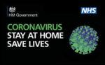 Coronavirus - Stay at home save lives