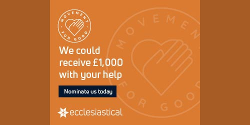 Movement for good - we could receive £1000 with your help